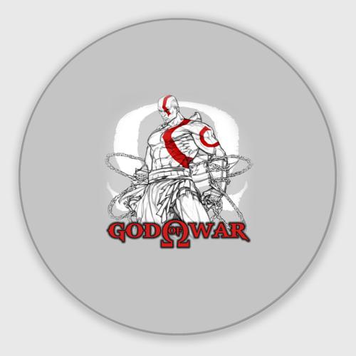 Коврик для мышки круглый God of War Фото 01