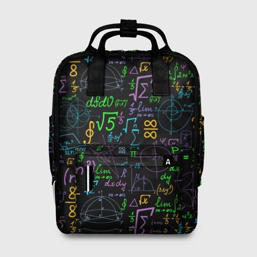 Женский рюкзак 3D Шпаргалка Фото 01