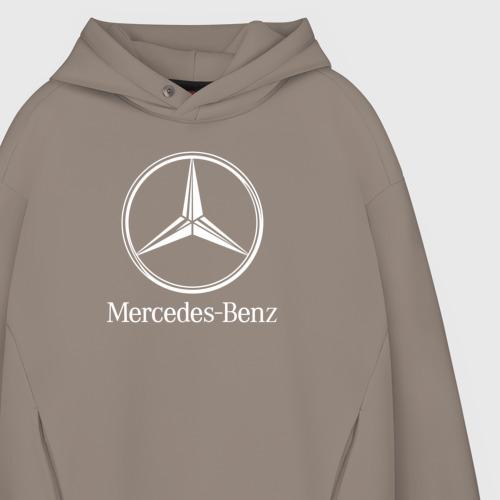 Мужское худи Oversize хлопок MERCEDES-BENZ AMG | МЕРСЕДЕС Фото 01