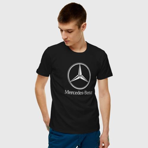 Мужская футболка хлопок MERCEDES-BENZ AMG Фото 01