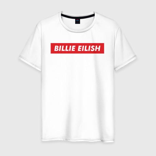 Мужская футболка хлопок Supreme Billie Eilish