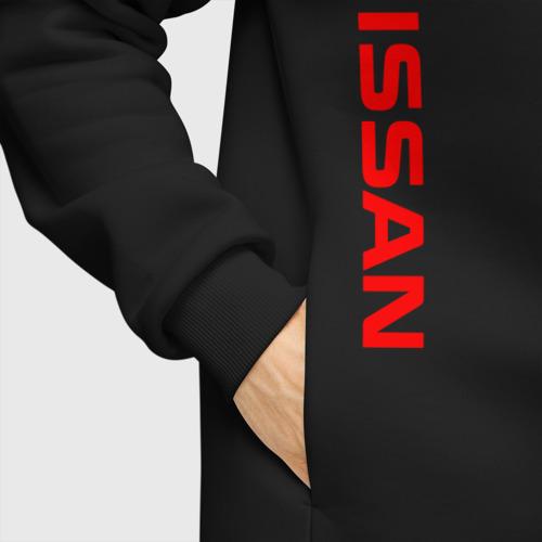 Мужское худи Oversize хлопок NISSAN Фото 01