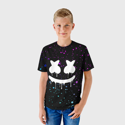 Детская футболка 3D MARSHMELLO Melt