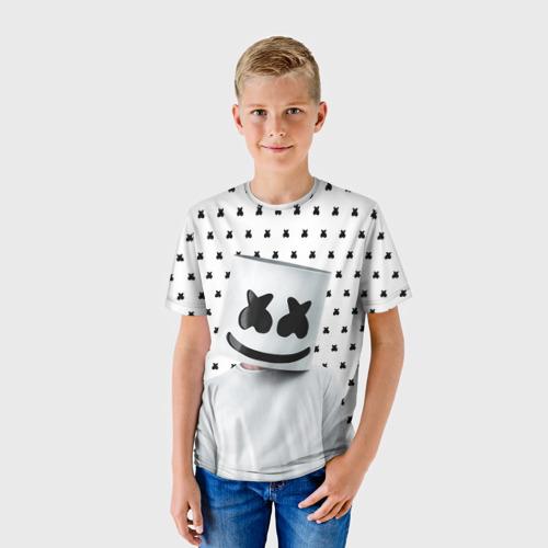 Детская футболка 3D MARSHMELLO White