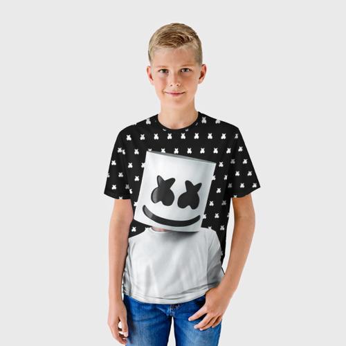 Детская футболка 3D MARSHMELLO Black