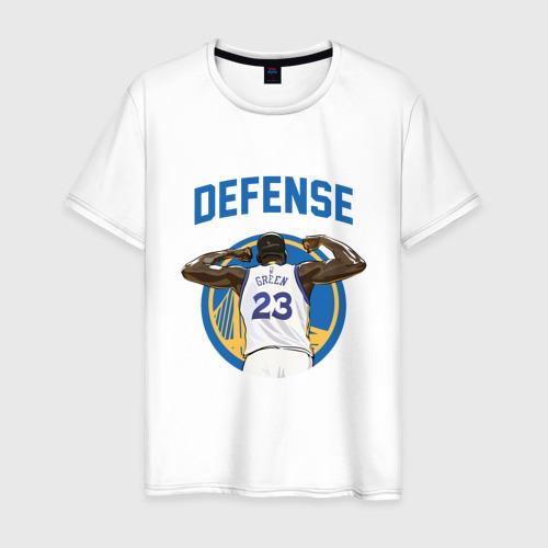 Мужская футболка хлопок Green - Defence