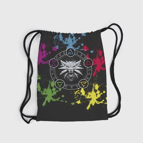 Рюкзак-мешок 3D Ведьмак  Фото 01