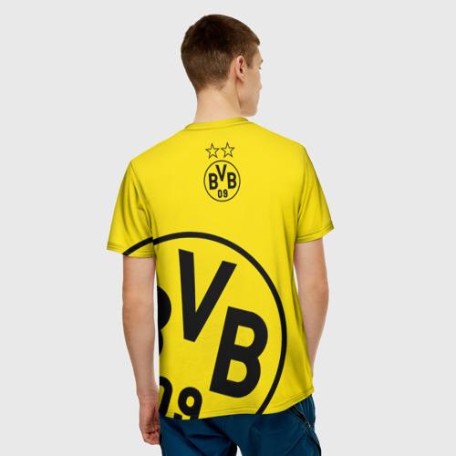 Мужская футболка 3D Боруссия Дортмунд Фото 01