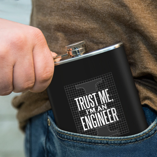 Фляга Trust Me, I'm an Engineer Фото 01