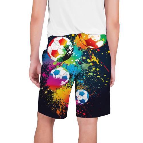 Мужские шорты 3D  Фото 02, Футбольные мячи