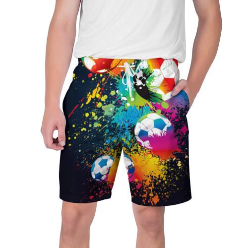 Мужские шорты 3D  Фото 01, Футбольные мячи