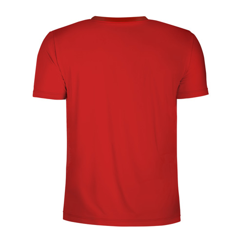 Мужская футболка 3D спортивная  Фото 02, Дама бубен