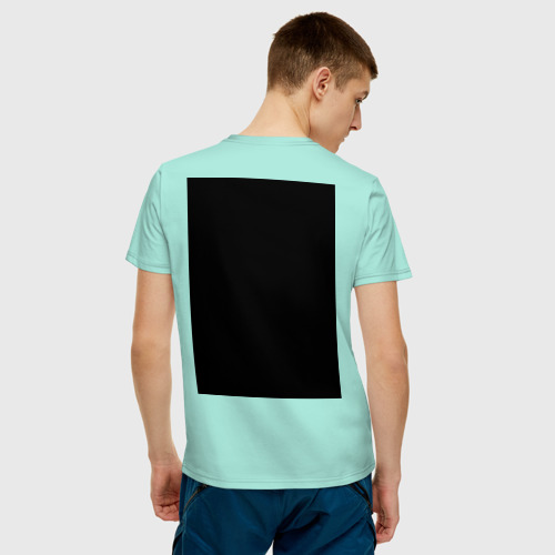 Мужская футболка хлопок Space Yoga Фото 01