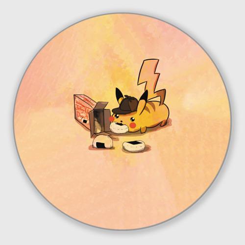 Коврик для мышки круглый Детектив Пика Фото 01