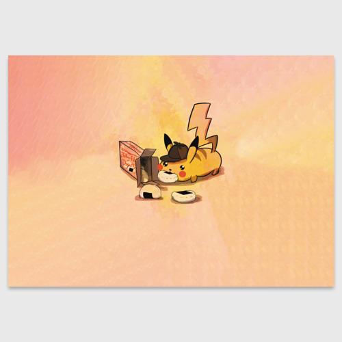 Поздравительная открытка Детектив Пика Фото 01