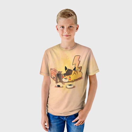 Детская футболка 3D Детектив Пика Фото 01