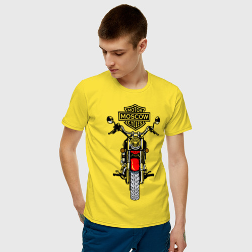 Мужская футболка хлопок Motor Moscow Cycles Фото 01
