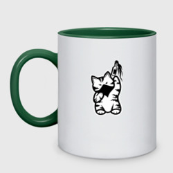Anarchist Cat Molotov Cocktail