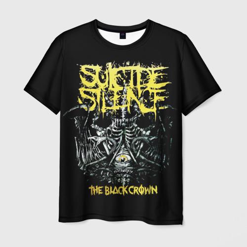 Мужская футболка 3D Suicide Silence