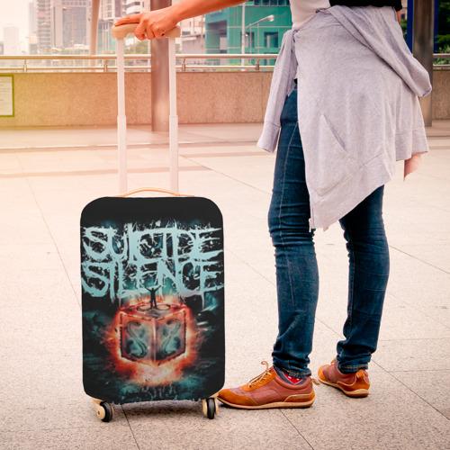 Чехол для чемодана 3D Suicide Silence Фото 01