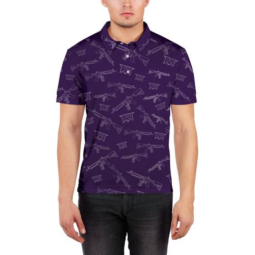 Мужская рубашка поло 3D  Фото 03, pro100