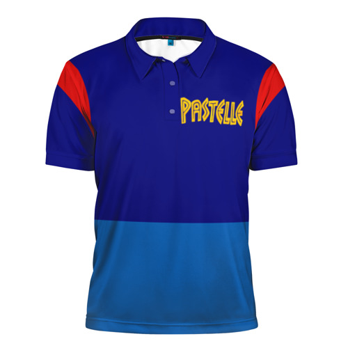 Мужская рубашка поло 3D Pastelle (1й мерч Канье Веста)