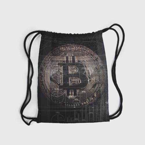 Рюкзак-мешок 3D Биткойн Фото 01