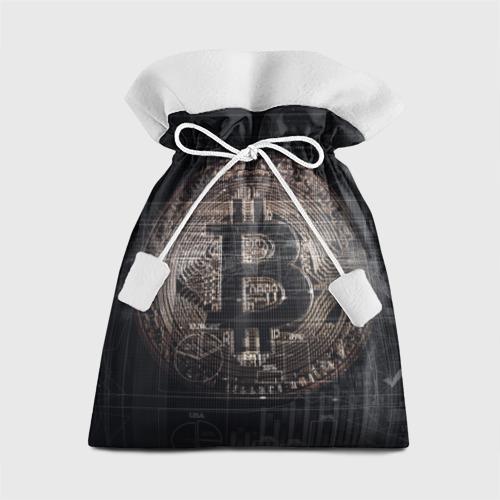 Подарочный 3D мешок Биткойн Фото 01