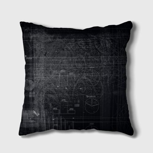Подушка 3D Биткойн Фото 01