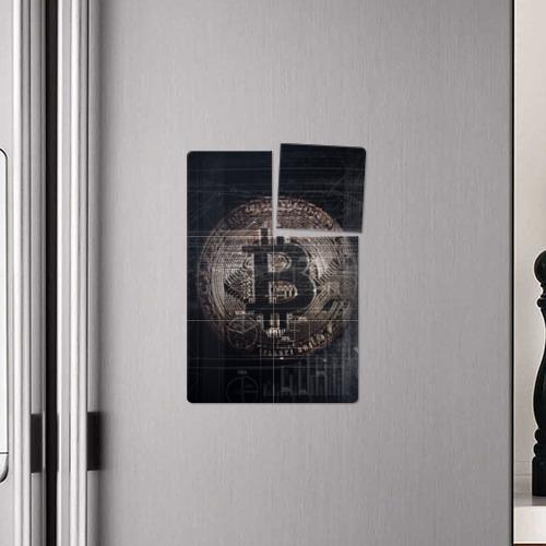 Магнитный плакат 2Х3 Биткойн Фото 01