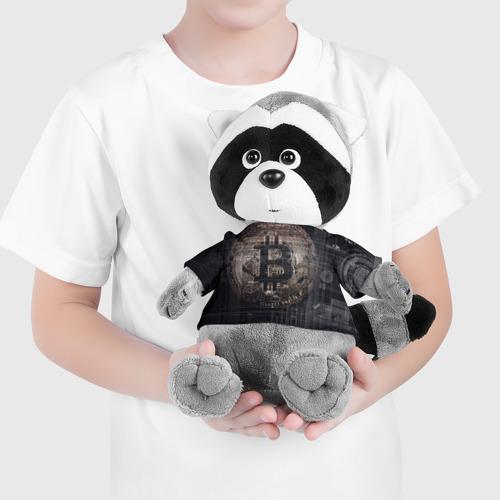 Енотик в футболке 3D Биткойн Фото 01