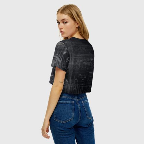 Женская футболка Cropp-top Биткойн Фото 01