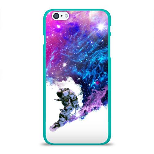 Чехол для Apple iPhone 6Plus/6SPlus силиконовый глянцевый Космический сноуборд Фото 01