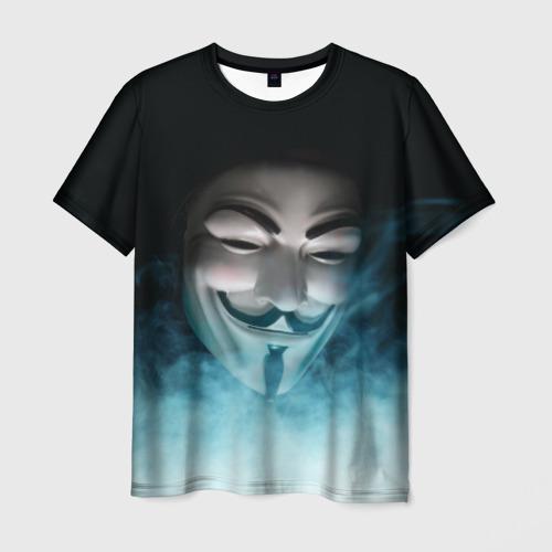 Мужская футболка 3D ВЕНДЕТТА Фото 01