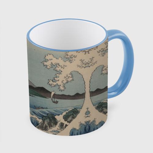 Кружка с полной запечаткой Утагава Хиросигэ