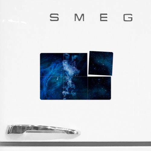 Магнитный плакат 3Х2 Синий космос Фото 01