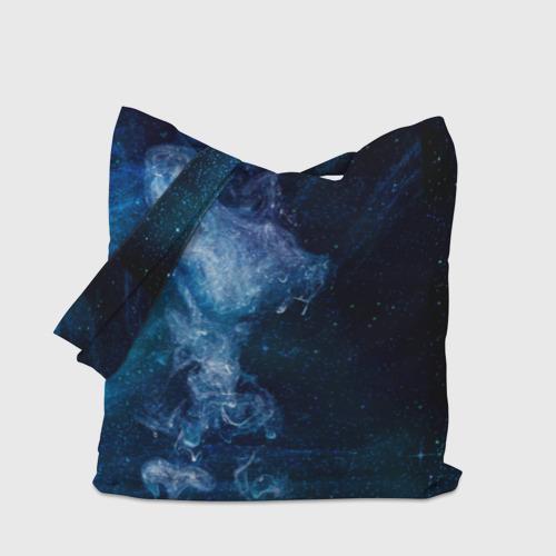 Сумка 3D повседневная Синий космос Фото 01