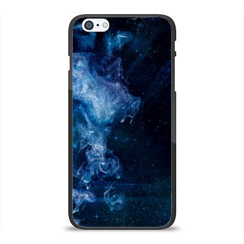 Чехол для iPhone 6Plus/6S Plus глянцевый Синий космос Фото 01