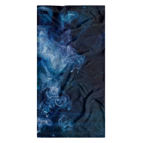 Бандана-труба 3D Синий космос Фото 01