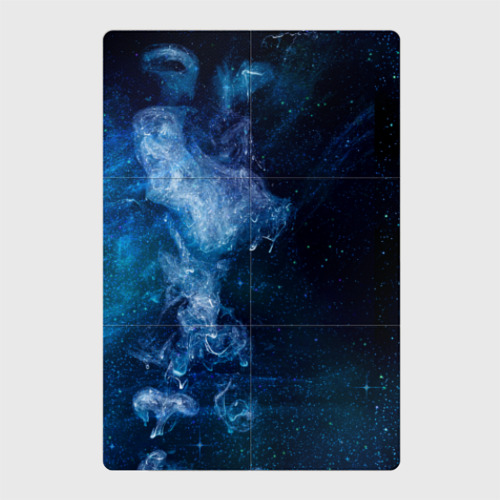 Магнитный плакат 2Х3 Синий космос Фото 01