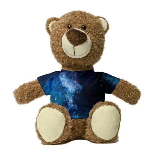 Миша в футболке 3D Синий космос Фото 01