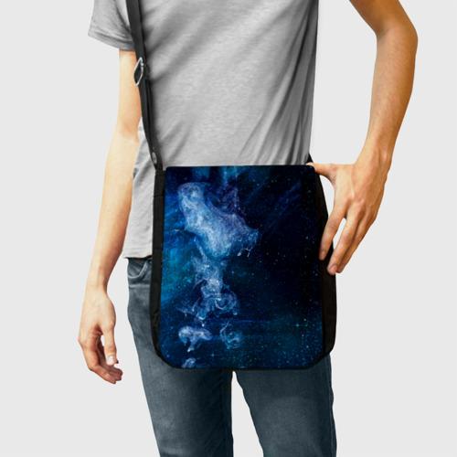 Сумка через плечо Синий космос Фото 01