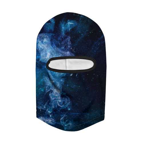 Балаклава 3D Синий космос Фото 01