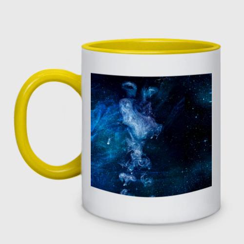 Кружка двухцветная Синий космос Фото 01
