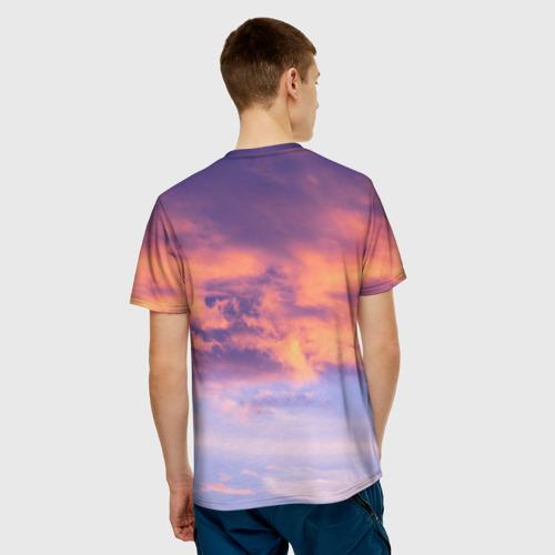 Мужская футболка 3D В небе Фото 01