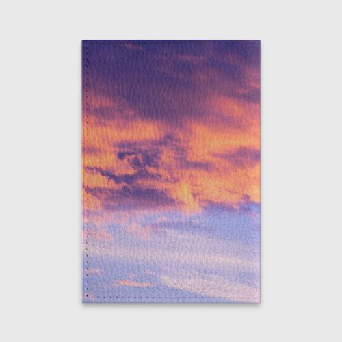 Обложка для паспорта матовая кожа В небе Фото 01