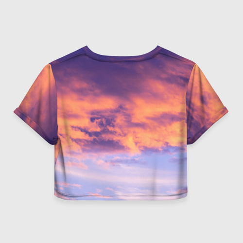 Женская футболка Cropp-top В небе Фото 01