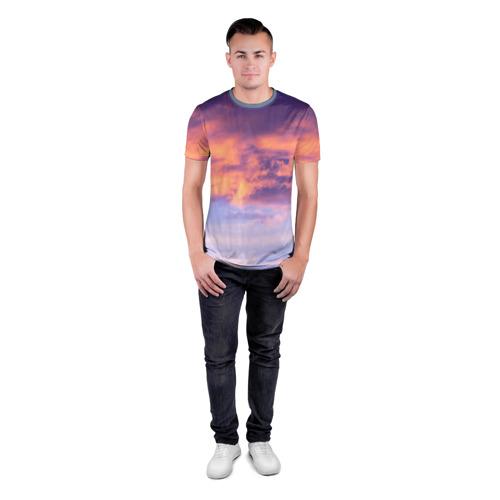 Мужская футболка 3D спортивная В небе Фото 01