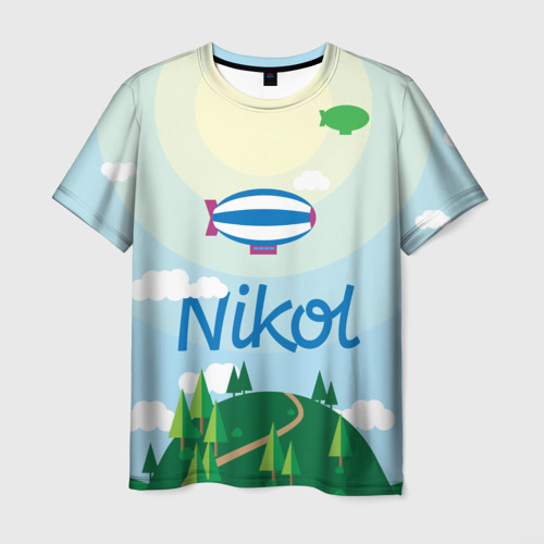 Мужская футболка 3D  Фото 03, Nikol Country
