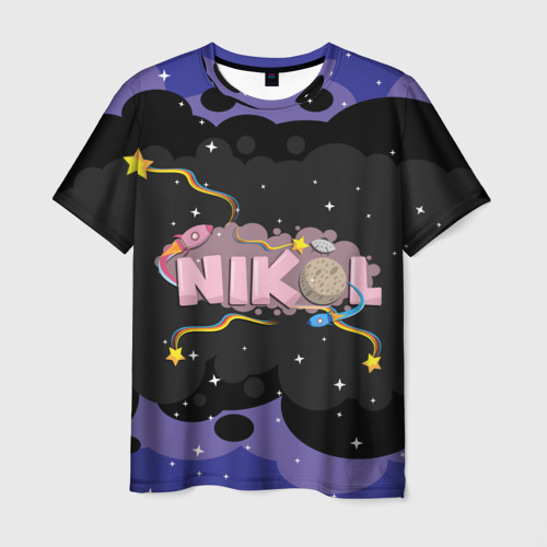 Мужская футболка 3D  Фото 03, Nikol space